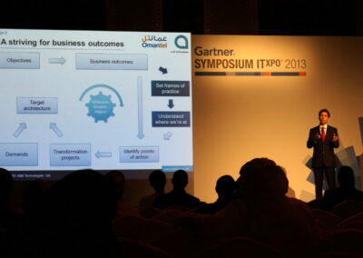 Gartner Symposium Dubai 2013