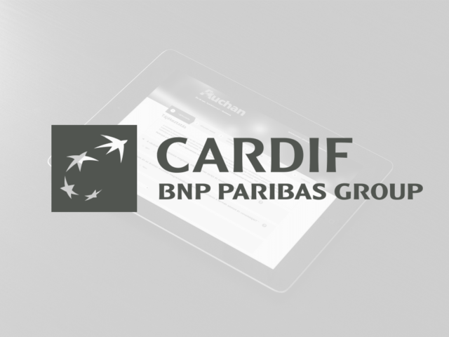 Online insurance quotation and contracting for BNP Paribas Cardif and its' retail partners